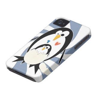 Trama de la caja intrépida de Blackberry Barely iPhone 4 Carcasas