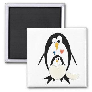 Trama del imán del pingüino
