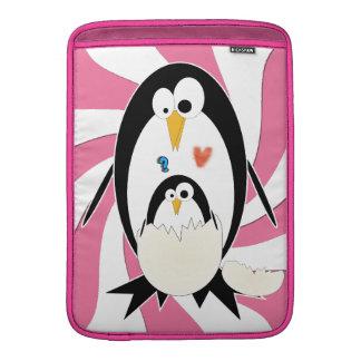 Tramando el pingüino Macbook ventile la manga de 1 Fundas Para Macbook Air