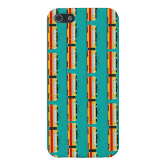 tramcar pattern cover for iPhone SE/5/5s