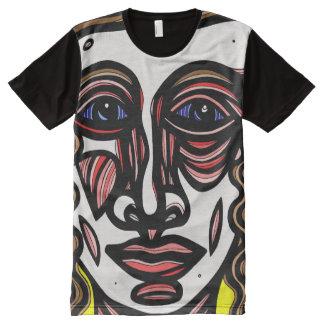 Trammel Abstract 631 Art American Apparel Men's Sh All-Over-Print T-Shirt