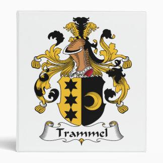 Trammel Family Crest Binders