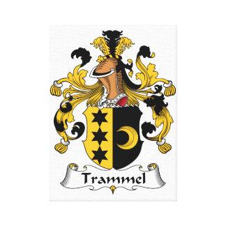 Trammel Family Crest Canvas Print