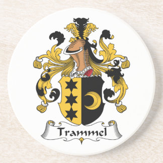Trammel Family Crest Coasters