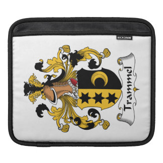 Trammel Family Crest Sleeves For iPads