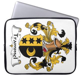 Trammel Family Crest Laptop Sleeve