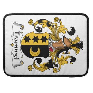 Trammel Family Crest Sleeve For MacBooks