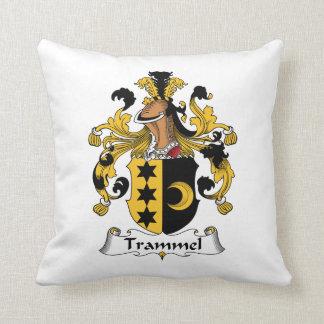 Trammel Family Crest Pillow