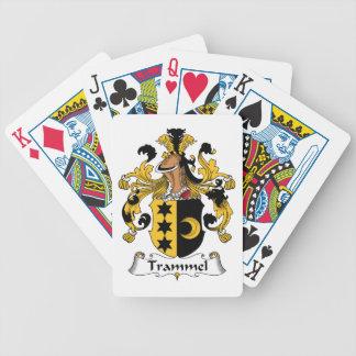 Trammel Family Crest Card Deck