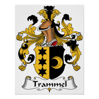 Trammel Family Crest Posters