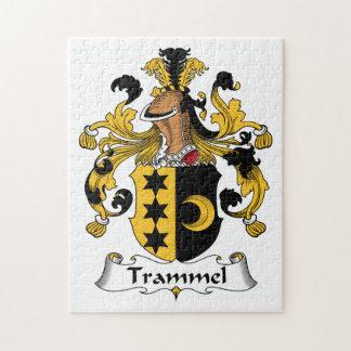 Trammel Family Crest Jigsaw Puzzle