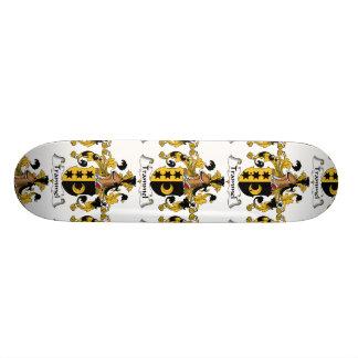 Trammel Family Crest Custom Skateboard