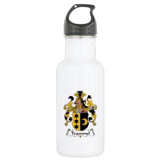 Trammel Family Crest Water Bottle