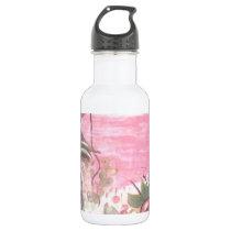 tramonto di vita stainless steel water bottle
