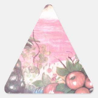 tramonto di vita triangle sticker