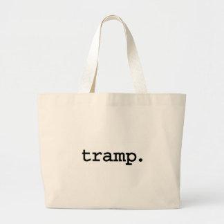tramp. tote bag