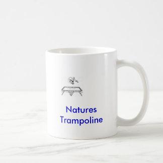 tramp, Natures Trampoline Coffee Mug