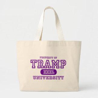 Tramp University Canvas Bags