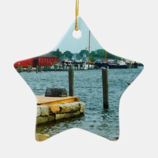 Trampa de la langosta en el CT místico Ornaments Para Arbol De Navidad