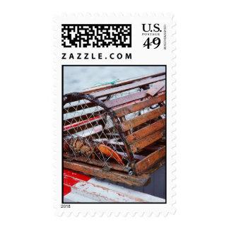Trampa de la langosta sellos