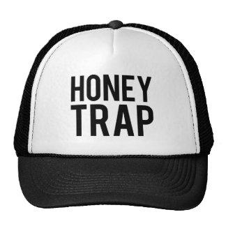 Trampa de la miel gorros bordados
