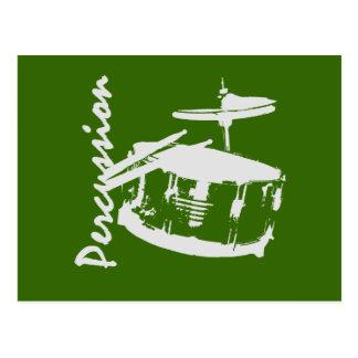 Trampa de la percusión postal