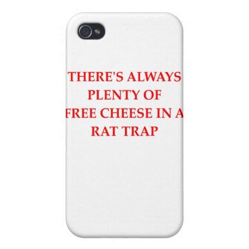 trampa de rata iPhone 4 carcasa