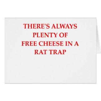 trampa de rata tarjetas