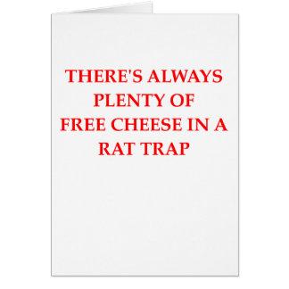 trampa de rata felicitaciones