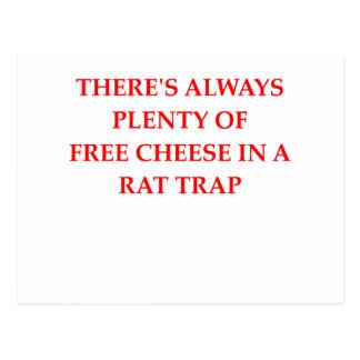 trampa de rata postal