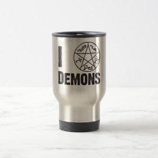 Trampa del demonio taza de viaje de acero inoxidable
