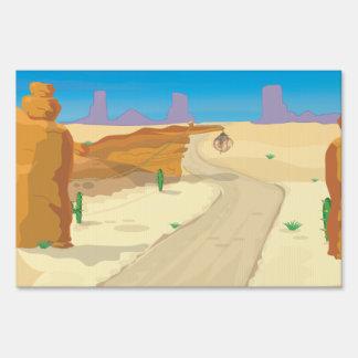 ¡Trampa del desierto! Señales