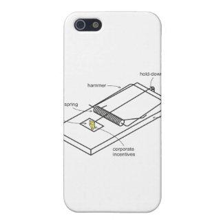 trampa del ratón iPhone 5 carcasas