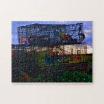 Trampas coloridas de la langosta puzzles