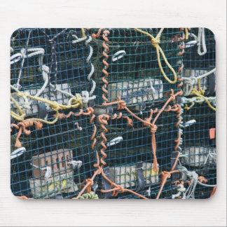 Trampas de la langosta, Nueva Escocia Alfombrillas De Raton
