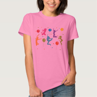 Trampoline Birthday Party T-Shirt for Girls 2