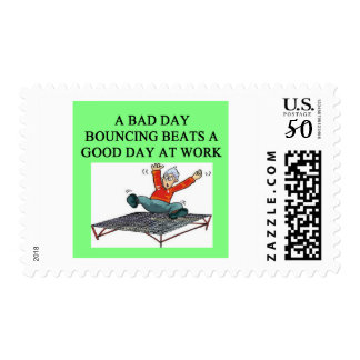 trampoline bounce postage