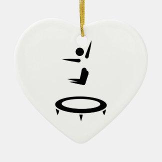 Trampoline Ceramic Ornament