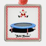 trampoline Christmas ornament