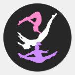 Trampoline gymanst stickers