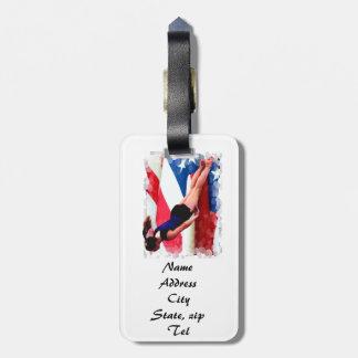 Trampoline Gymnast Bag Tag