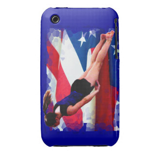 Trampoline gymnast Barely There iPhone 3g/3gs Case