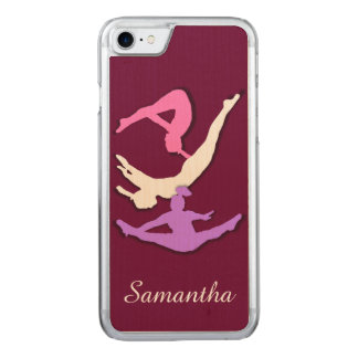 Trampoline Gymnast Carved iPhone 7 Case