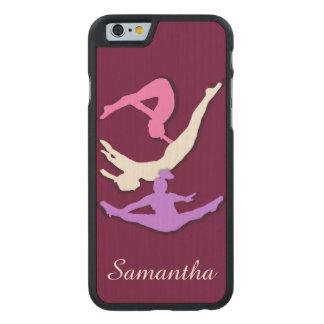 Trampoline Gymnast Carved® Maple iPhone 6 Case