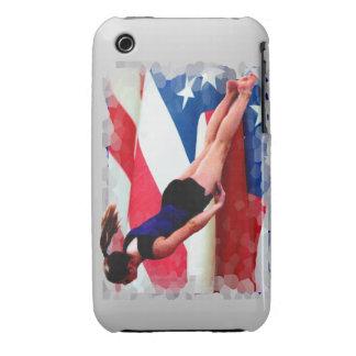 Trampoline gymnast Case-Mate iPhone 3 case