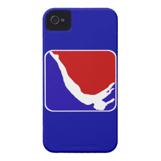Trampoline gymnast iPhone 4 cover