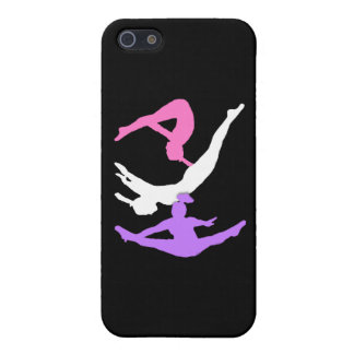 Trampoline gymnast iPhone SE/5/5s cover