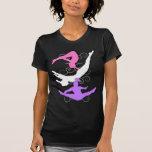 Trampoline gymnast long t-shirt