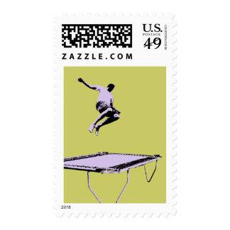 Trampoline Horizontal Stamp 3