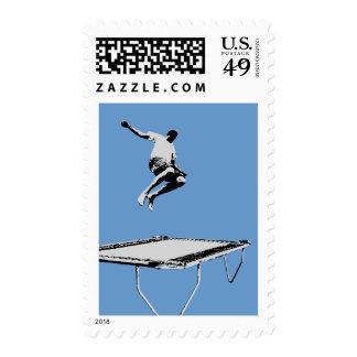 Trampoline Horizontal Stamp 5